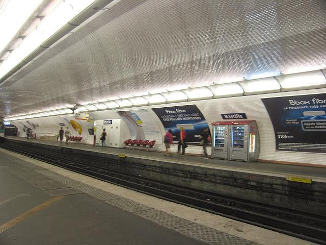 Station de métro, Paris