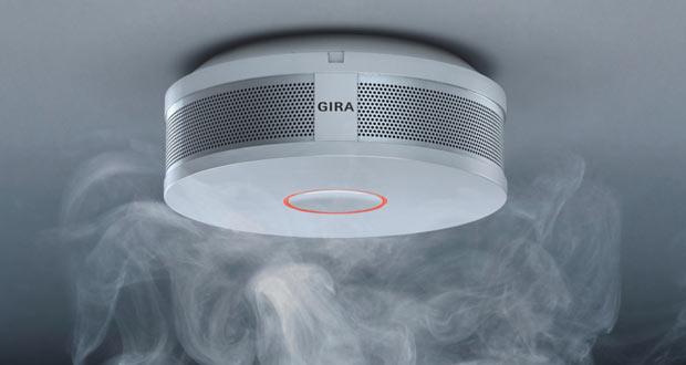 Détecteur de fumée GIRA