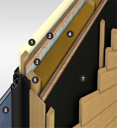 Une maison ou une extension en ossature bois notes de for Construire une extension en ossature bois