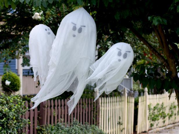 DIY Halloween Fantômes