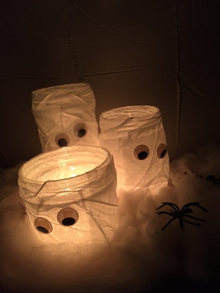 DIY Halloween Photophores