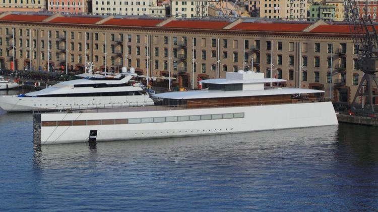 Philippe Starck, Architecte et Designer, Yacht Steve Jobs