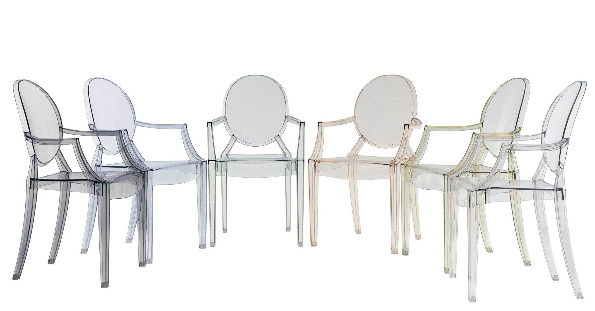Philippe Starck, Architecte et Designer, chaise Louis Ghost