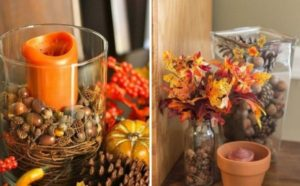 Notes de Styles bougeoirs d'automne