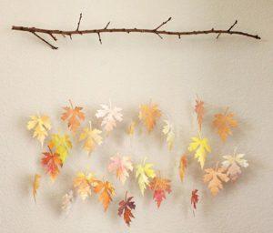 Notes de Styles mobile feuilles d'automne