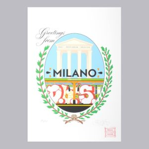 Greetings From Milano Maison Anatole Postcard