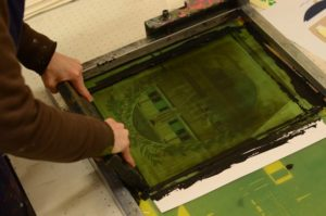 Maison Anatole Greetings From Paris Serigraphie