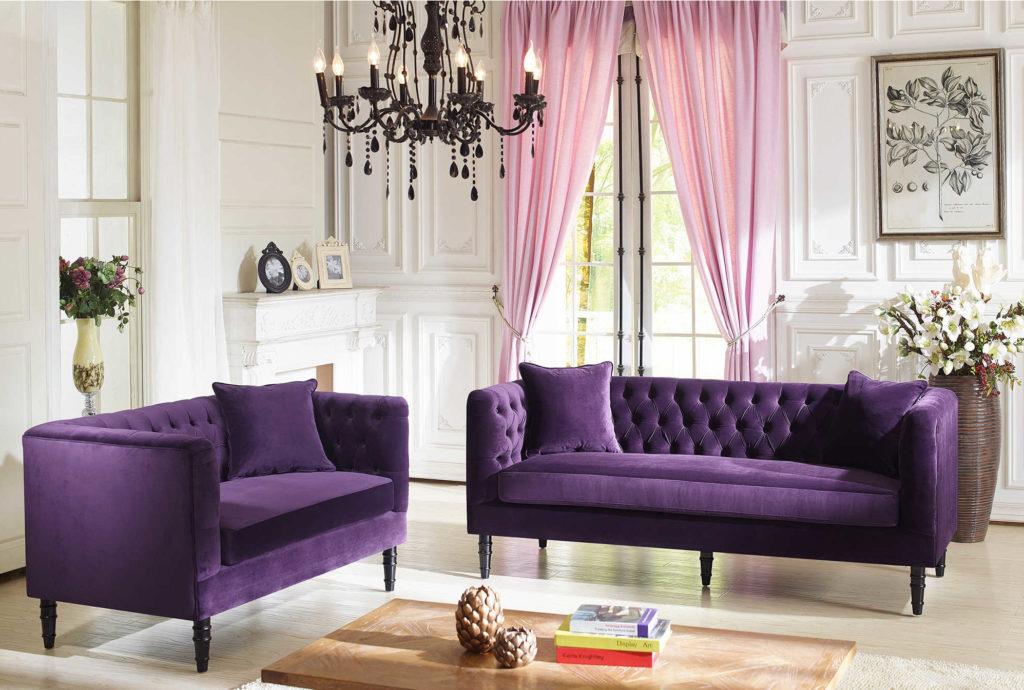 canapé ultra violet