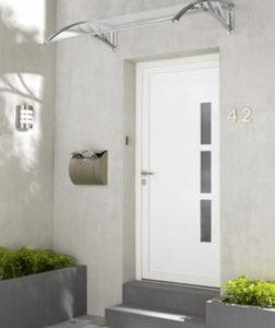 Porte d'entrée en PVC de Leroy Merlin