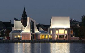 utzon center à Aalborg, Notes de Styles