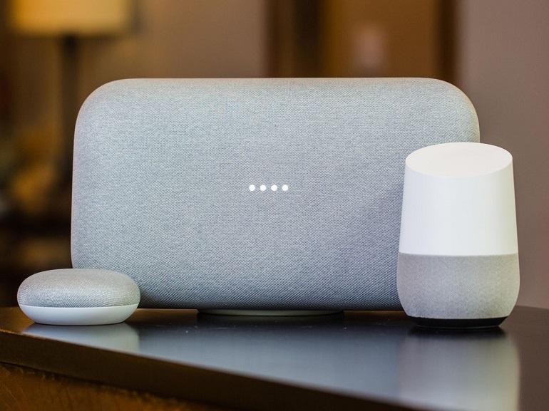 Enceinte Google Home mini, classique, max