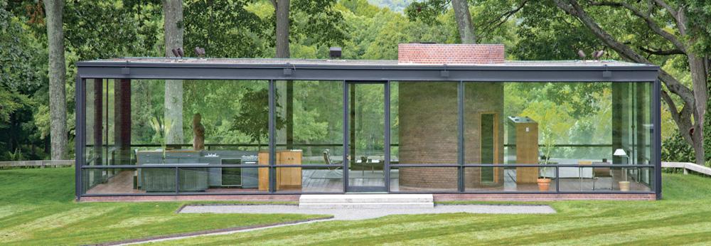 Philip Johnson, architecte, Glass House