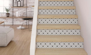 Customiser son escalier, utiliser du papier peint, Notes de Styles