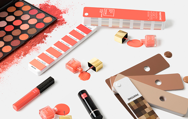 Pantone Color of the Year 2019 Living Coral in Beauty