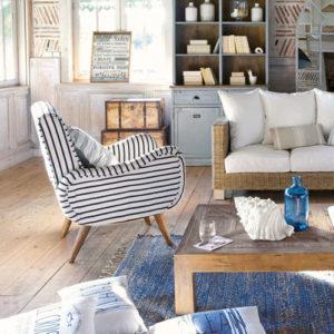 fauteuil en kilim Maisons du Monde