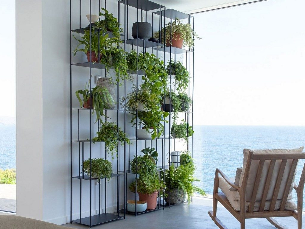 Idées de mur végétal - étagère AMPM - Notes de Styles