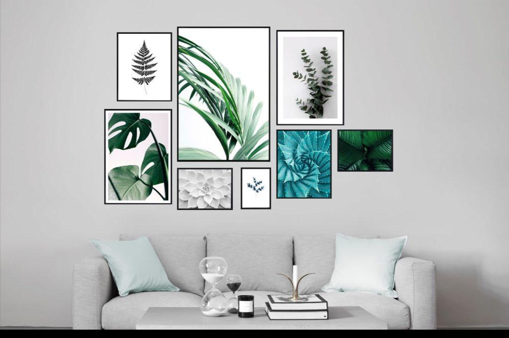 Idées de mur végétal - Affiches Desenio - Notes de Styles