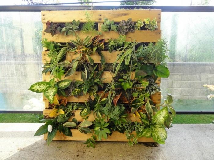 Idées de mur végétal - Palette - Notes de Styles
