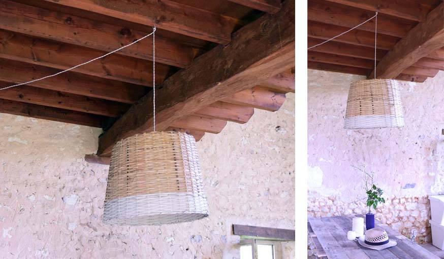 Lampe panier, 18h39 Castorama - Notes de Styles