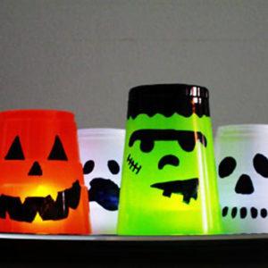 Halloween - Fantômes verre - Australian Baby Blog