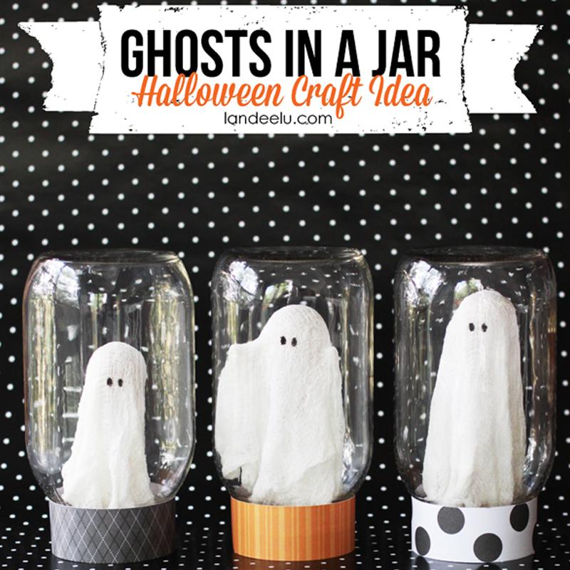 Halloween - Fantôme en jar - Eighteen 25