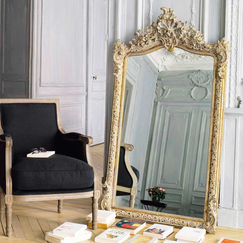 Miroir doré - Maisons du Monde