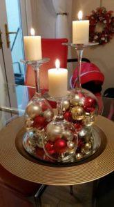 Bougeoir Boule de Noel