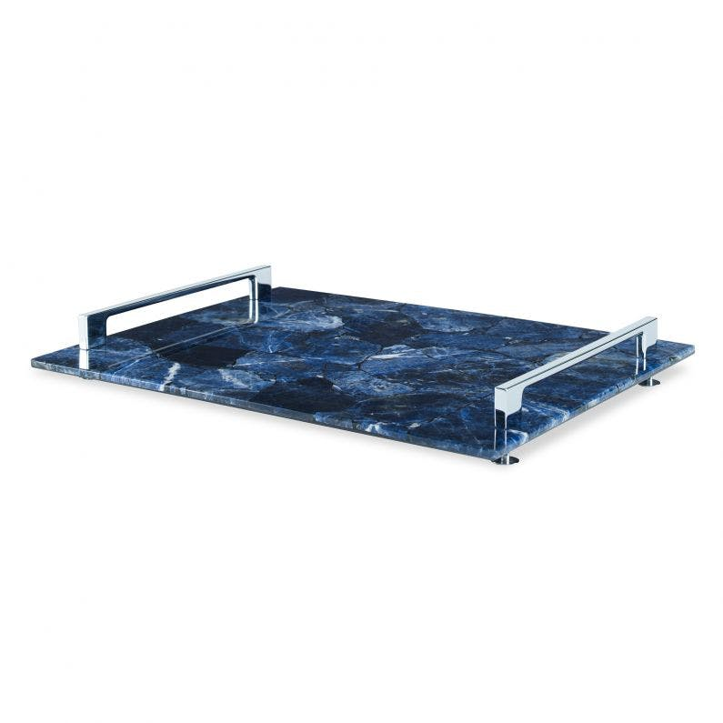 Rio Claro Tray, Large Blue