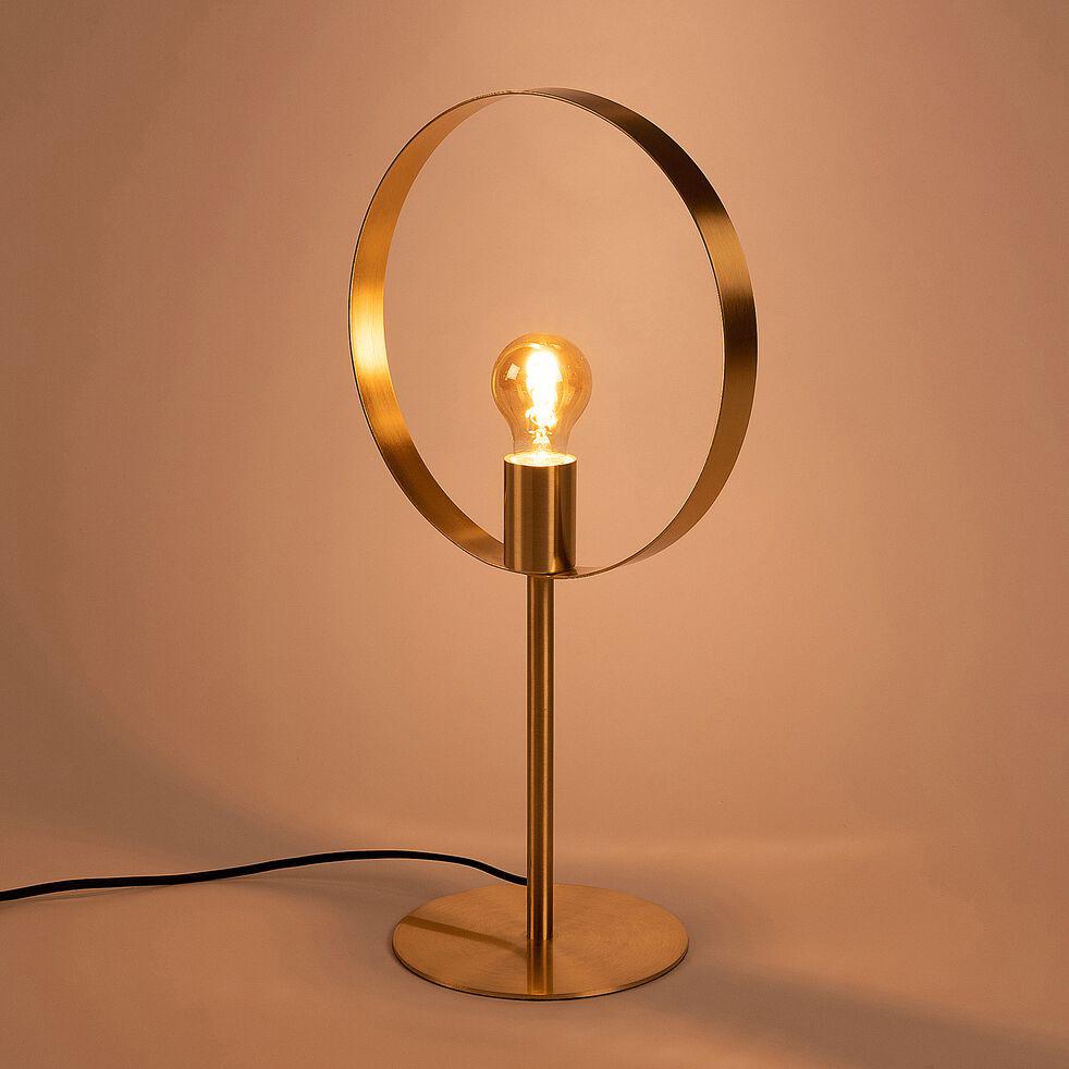 Lampe métal doré Juliane - Alinea