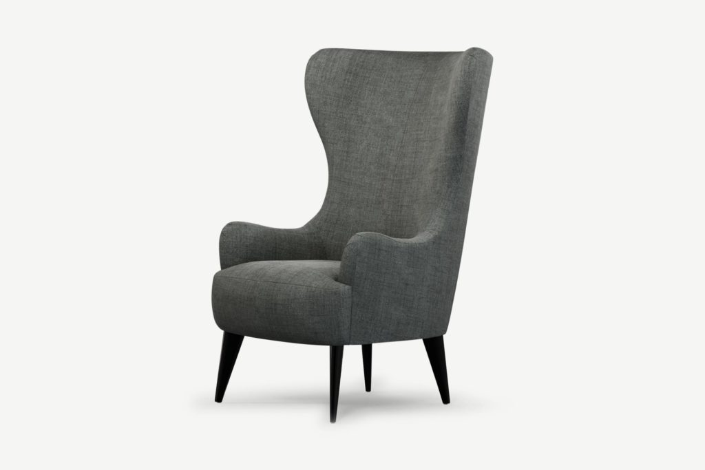 MADE - Bodil, fauteuil, velours