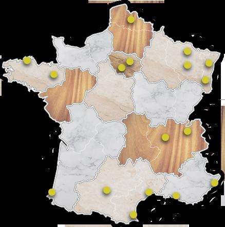 Architecture d'intérieur dans toute la France avec Notes de Style
