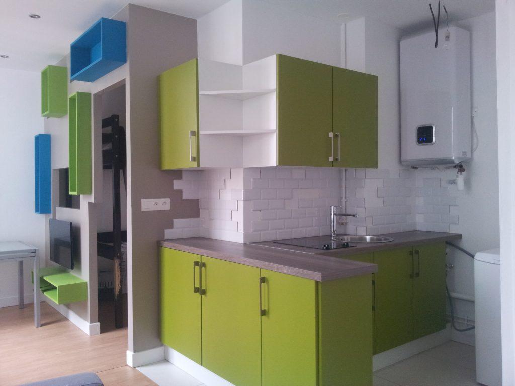 Appartement, réalisation agence Notes de Styles architecte d'intérieur Marne-la-Vallée