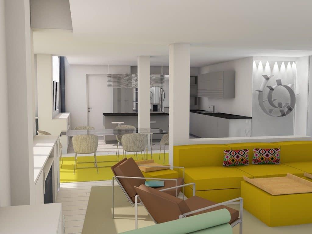 restructuration appartement, réalisation agence Notes de Styles architecte d'intérieur Hauts-de-Seine