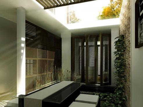 aménagement patio, réalisation agence Notes de Styles architecte d'intérieur Marne-la-Vallée