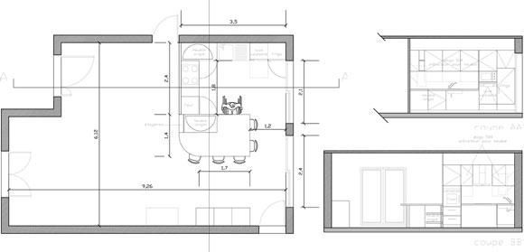 salle de bain adaptée PMR, prestation Notes de Styles