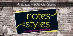 Ouverture de l'Agence Hauts-de-Seine. Notes de Styles