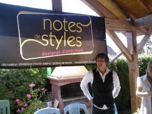 Lancement de Notes de Styles, Aout 2009