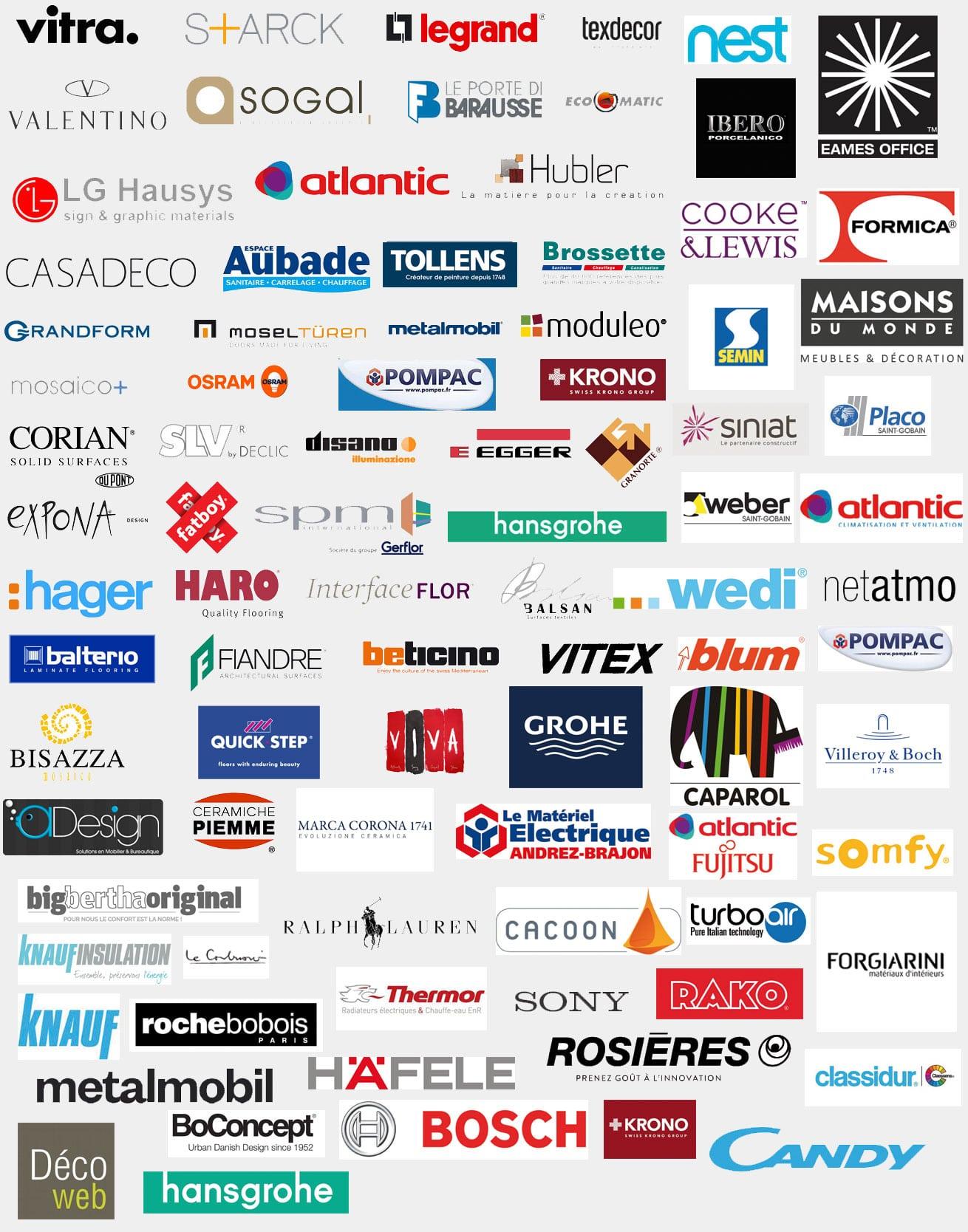 Nos Partenaires et Fournisseurs Notes de Styles