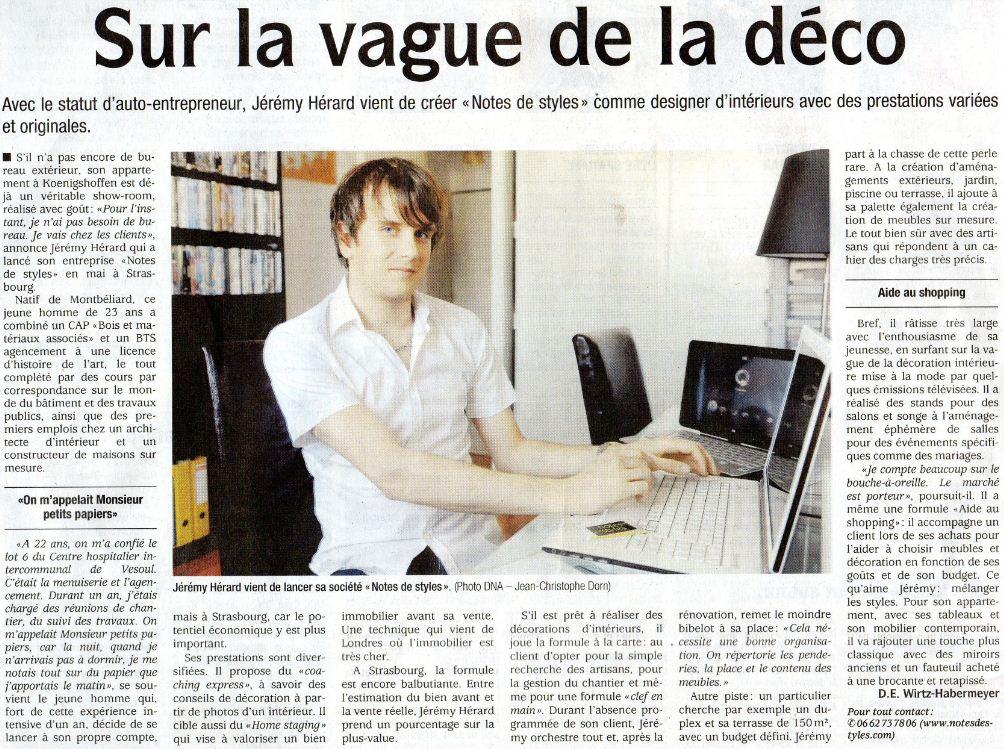 sur_la_vague_de_la_deco, Notes de Styles