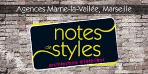 Ouvertures des Agences Marne-la-Vallée et Marseille. Notes de Styles
