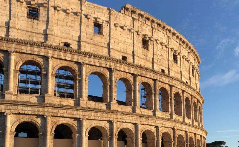 Séminaire à Rome en 2019